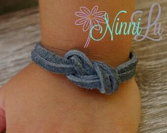 Suede Bracelet, Boy bracelet, girl bracelet, adult bracelet,toddler bracelet, baby bracelet, leather bracelet, boy jewelry, girl jewelery