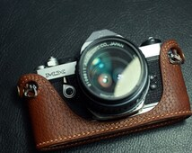 For Pentax MX Leather Cameras Case, Pentax Camera Case, Handmade Leather Camera Protector, customized camera bag