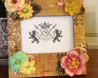 Custom Hand Painted and Decorated Frame