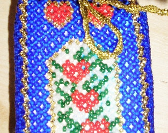Pouch made of beads Stenboden