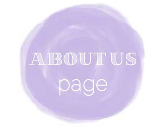 Writing Services: ABOUT US page