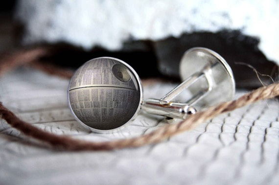 Star Wars Death Star Cuff Links