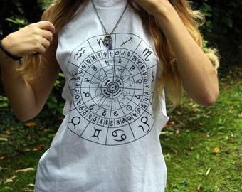 Tank t-shirt sleeveless: Astrology