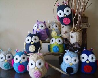 Adorable Stuffed Crochet Owls