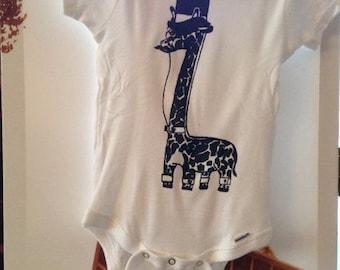 Classy Giraffe™ Baby Onesie