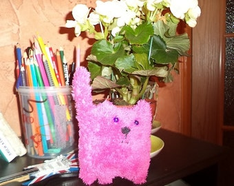 Terry pink cat