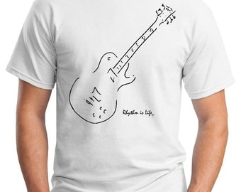 Electric Guitar T-Shirt (Gibson Les Paul)