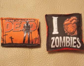The Walking Dead/I love Zombies - organic handmade catnip toys
