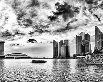 Singapore - Skyline, Marina Bay - SKU 0017