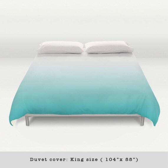 housse couette d grad turquoise housse couette d grad bleu. Black Bedroom Furniture Sets. Home Design Ideas