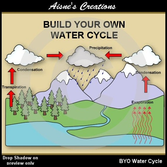 water cycle clip art - photo #24