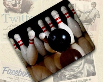 Bowling Large Mousepad Mouse Pad Great Gift Idea LMP613