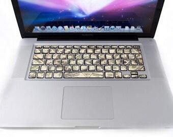 Keyboard for MacBook Dollar stickers