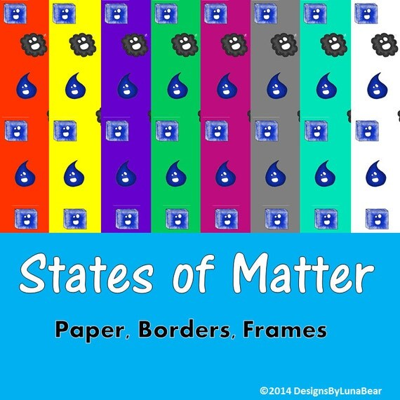 essay about the use of changing states of matter Best answer: this is a list of the different states of matter, including the more exotic states of matter are generally distinguished by pressure and temperature conditions, transitioning to other phases as these conditions change to favor their existence for example, freezing transitions to melting with.