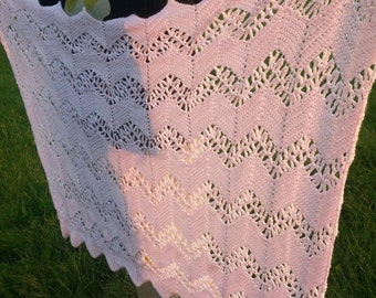 Crochet Ripple Baby Blanket Made to Order