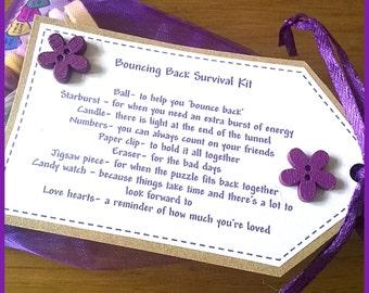 Personalised Bouncing Back Survival Kit