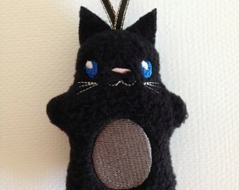 Embroidered Cat / Stuffed Toy / Ornament