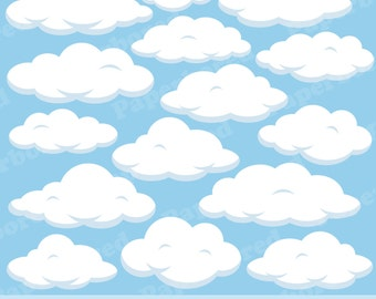 Fluffy Clouds Etsy