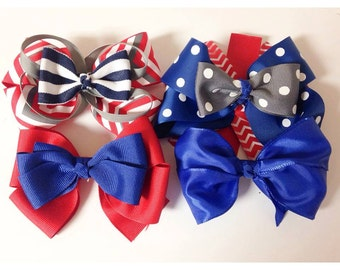 different styles of hair bows popular items for hair bow on etsy 9734