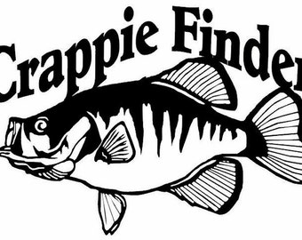 Popular Items For Crappie On Etsy