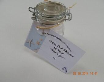 Muscle Rescue Detox Bath Salts, Made with Dead Sea Salt and European Spa Salt 2 Ounce Kent Island Bath Salts