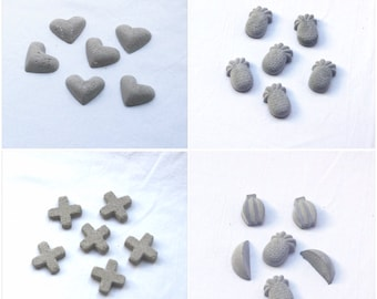 Cement magnets