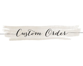CUSTOM Calligraphy, 1-10 words
