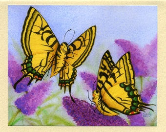 Butterflies (Love is in the Air) Greeting Card