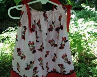 Minnie Mouse pillowcase dress