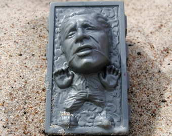 Funny Han Solo in carbonite Soap : Star Wars - made from a Star Wars mould