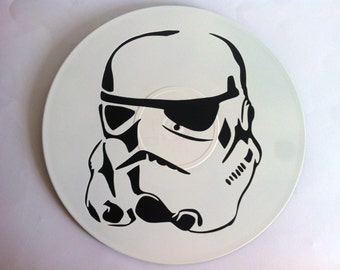 Clone trooper decorative vinyl record