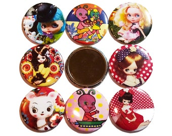 Purse Mirrors - Choose image from the option menu