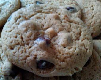 A Pound of Homemade Peanut Butter Chocolate Chip Cookie