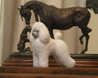 Poodle Dog Collectible Figurine
