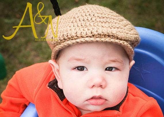 Original Nolan Scally Cap Crochet Patterndriving Cap Flat