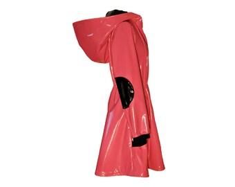 Glossy Rain Coat PINK RAIN