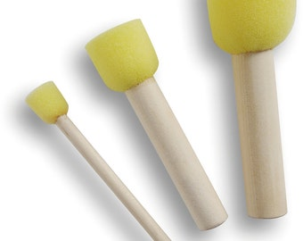 Stippling brush, set of 3