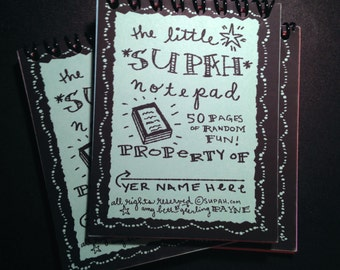 Little Supah Notepad (updated & awesome)