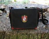 Harry Potter GRYFFINDOR House Messenger Bag - Ready to Ship