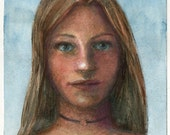 Portrait of a Girl Origin...