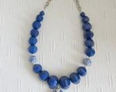 Oriental Blues Necklace