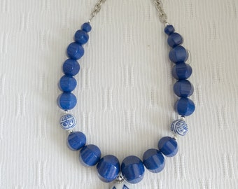 Oriental Blues Necklace