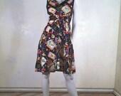 "Russian Motif ""sheet dress"""