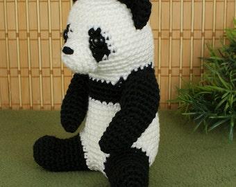 PDF Giant Panda amigurumi CROCHET PATTERN
