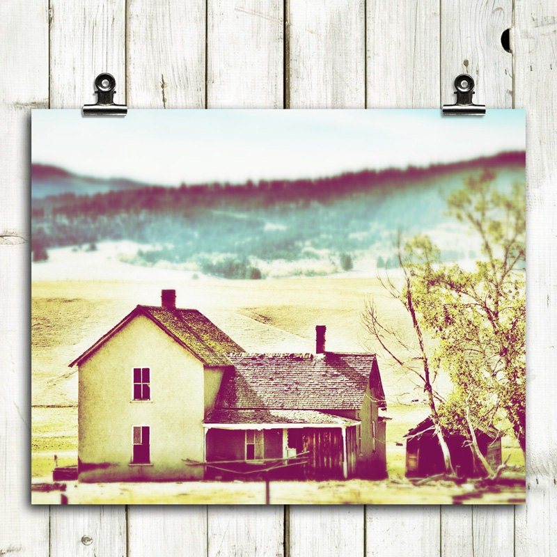 old farmhouse large art large wall art rustic by AnnieBailey