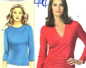 Vogue 8151 Today's Fit SANDRA BETZINA Pullover Tops