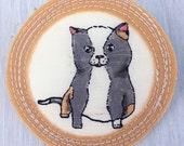 Merit Badge for 'being a smitten kitten'