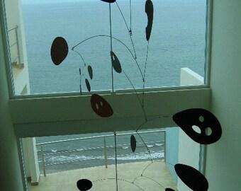 XX Large Modern Art Hanging Mobile Megamo Kinetic Sculpture Skylight Calder Styled Decor