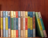 16 vintage books set The real book of Spies, Cowboys, Electronics, Pirates, Robots & Thinking Machines 1953 children literature educational