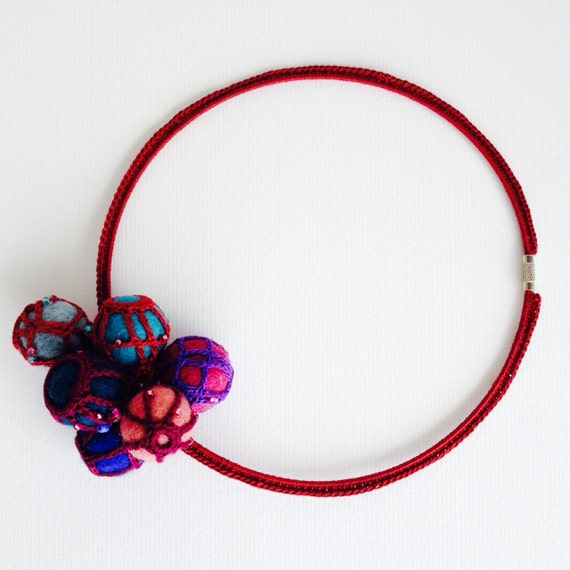 Reserved for Preacher13 - BUGALHO Necklace Crochet